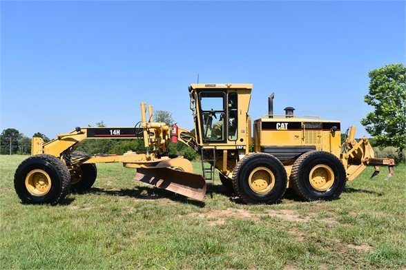 USED 2003 CATERPILLAR 14H VHP MOTOR GRADER EQUIPMENT #2143