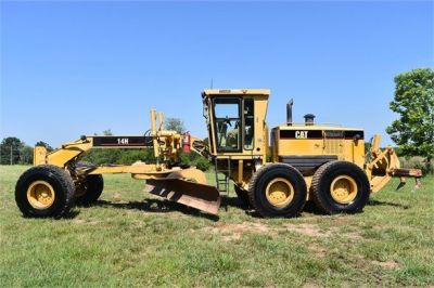 USED 2003 CATERPILLAR 14H VHP MOTOR GRADER EQUIPMENT #2143-1