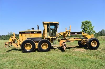 USED 2003 CATERPILLAR 14H VHP MOTOR GRADER EQUIPMENT #2143-10