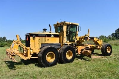 USED 2003 CATERPILLAR 14H VHP MOTOR GRADER EQUIPMENT #2143-11