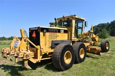 USED 2003 CATERPILLAR 14H VHP MOTOR GRADER EQUIPMENT #2143-12