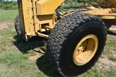 USED 2003 CATERPILLAR 14H VHP MOTOR GRADER EQUIPMENT #2143-16