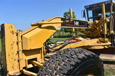 USED 2003 CATERPILLAR 14H VHP MOTOR GRADER EQUIPMENT #2143-17