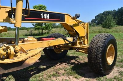 USED 2003 CATERPILLAR 14H VHP MOTOR GRADER EQUIPMENT #2143-18
