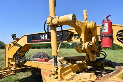 USED 2003 CATERPILLAR 14H VHP MOTOR GRADER EQUIPMENT #2143-19