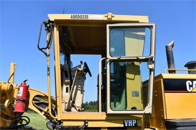 USED 2003 CATERPILLAR 14H VHP MOTOR GRADER EQUIPMENT #2143-29