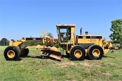 USED 2003 CATERPILLAR 14H VHP MOTOR GRADER EQUIPMENT #2143-3