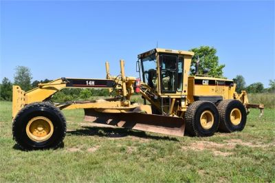 USED 2003 CATERPILLAR 14H VHP MOTOR GRADER EQUIPMENT #2143-4