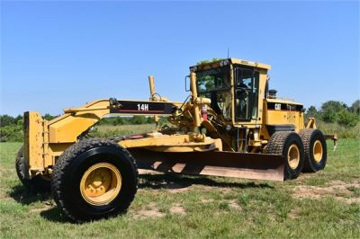 USED 2003 CATERPILLAR 14H VHP MOTOR GRADER EQUIPMENT #2143-5