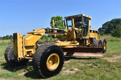 USED 2003 CATERPILLAR 14H VHP MOTOR GRADER EQUIPMENT #2143-6
