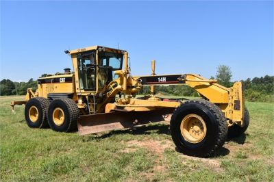 USED 2003 CATERPILLAR 14H VHP MOTOR GRADER EQUIPMENT #2143-7