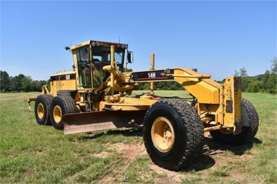 USED 2003 CATERPILLAR 14H VHP MOTOR GRADER EQUIPMENT #2143-8