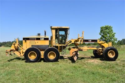 USED 2003 CATERPILLAR 14H VHP MOTOR GRADER EQUIPMENT #2143-9