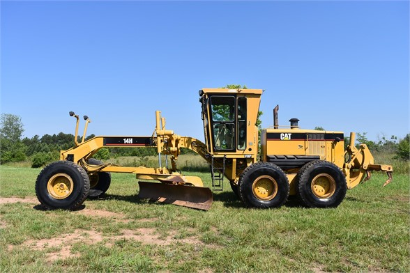 USED 2004 CATERPILLAR 14H VHP MOTOR GRADER EQUIPMENT #2144