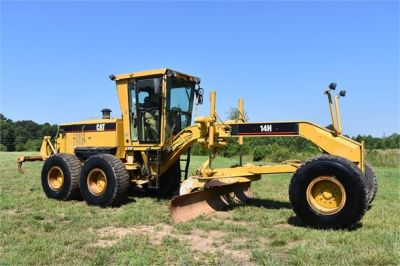 USED 2004 CATERPILLAR 14H VHP MOTOR GRADER EQUIPMENT #2144-10