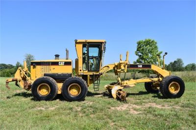 USED 2004 CATERPILLAR 14H VHP MOTOR GRADER EQUIPMENT #2144-11
