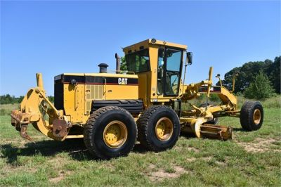 USED 2004 CATERPILLAR 14H VHP MOTOR GRADER EQUIPMENT #2144-12