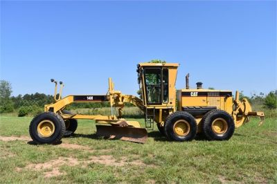 USED 2004 CATERPILLAR 14H VHP MOTOR GRADER EQUIPMENT #2144-2