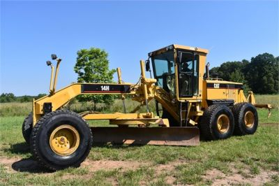 USED 2004 CATERPILLAR 14H VHP MOTOR GRADER EQUIPMENT #2144-3