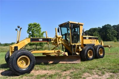 USED 2004 CATERPILLAR 14H VHP MOTOR GRADER EQUIPMENT #2144-5