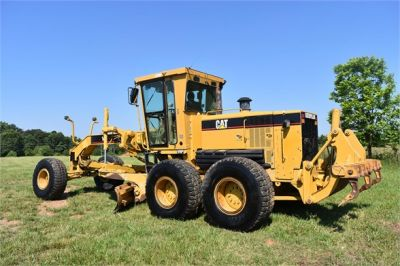 USED 2004 CATERPILLAR 14H VHP MOTOR GRADER EQUIPMENT #2144-6