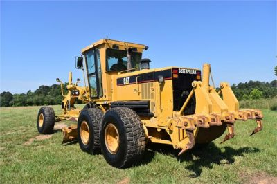 USED 2004 CATERPILLAR 14H VHP MOTOR GRADER EQUIPMENT #2144-8