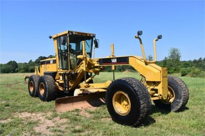 USED 2004 CATERPILLAR 14H VHP MOTOR GRADER EQUIPMENT #2144-9