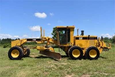 USED 1998 CATERPILLAR 140H MOTOR GRADER EQUIPMENT #2145-1