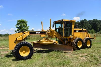 USED 1998 CATERPILLAR 140H MOTOR GRADER EQUIPMENT #2145-10