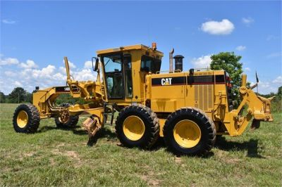 USED 1998 CATERPILLAR 140H MOTOR GRADER EQUIPMENT #2145-11