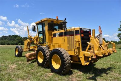 USED 1998 CATERPILLAR 140H MOTOR GRADER EQUIPMENT #2145-12