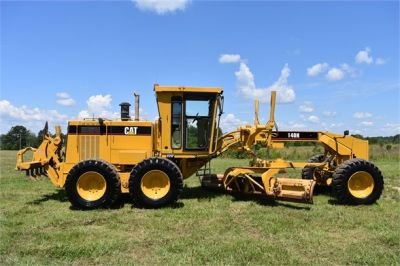 USED 1998 CATERPILLAR 140H MOTOR GRADER EQUIPMENT #2145-2