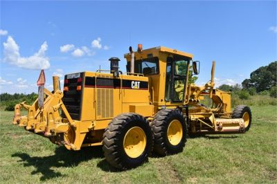 USED 1998 CATERPILLAR 140H MOTOR GRADER EQUIPMENT #2145-4