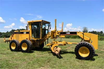 USED 1998 CATERPILLAR 140H MOTOR GRADER EQUIPMENT #2145-5