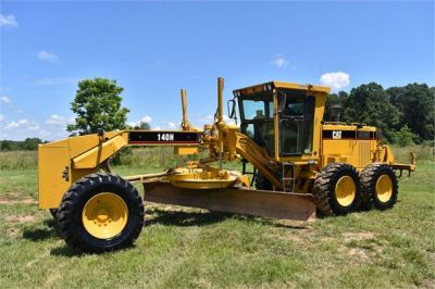 USED 1998 CATERPILLAR 140H MOTOR GRADER EQUIPMENT #2145-8