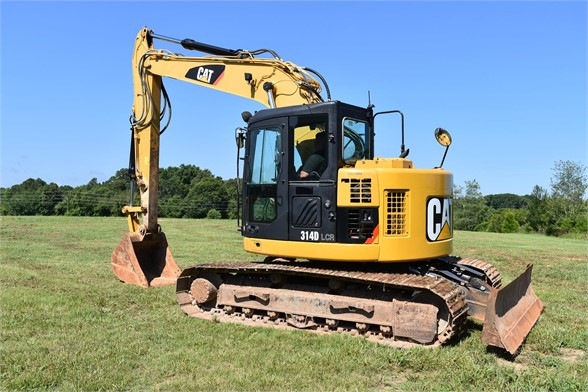 USED 2013 CATERPILLAR 314D LCR EXCAVATOR EQUIPMENT #2147