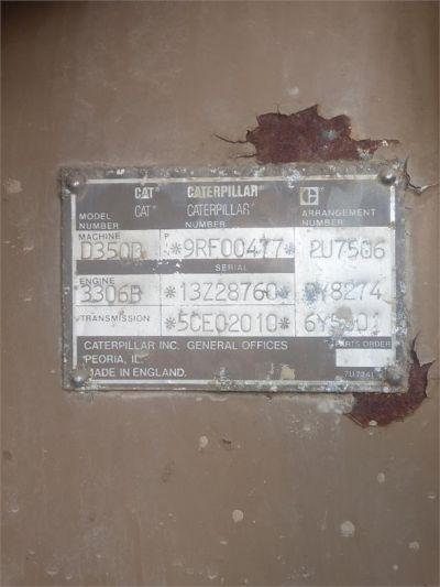 USED 2003 CATERPILLAR D350D OFF HIGHWAY TRUCK EQUIPMENT #2150-14