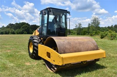 USED 2012 CATERPILLAR CS56 COMPACTOR EQUIPMENT #2158-7