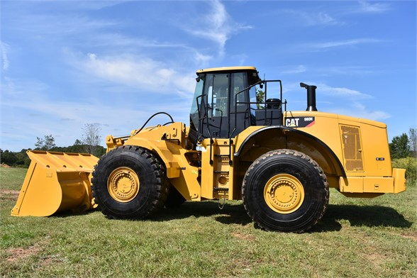USED 2011 CATERPILLAR 980H WHEEL LOADER EQUIPMENT #2165