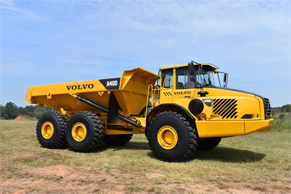 USED 2005 VOLVO A40D OFF HIGHWAY TRUCK EQUIPMENT #2170