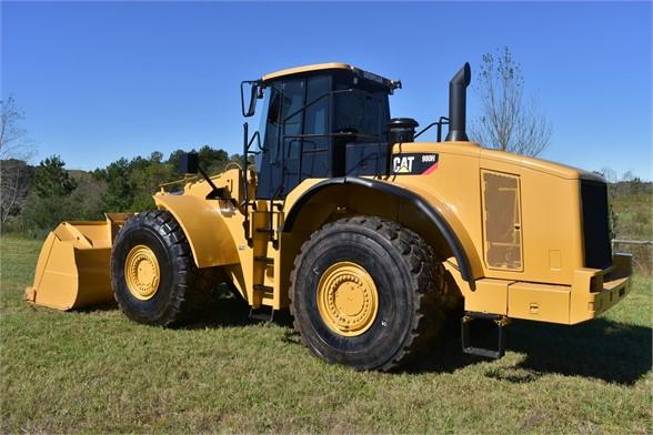 USED 2011 CATERPILLAR 980H WHEEL LOADER EQUIPMENT #2172