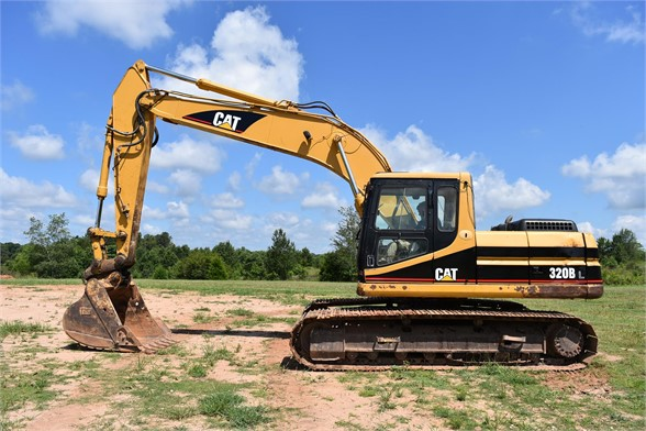 USED 1999 CATERPILLAR 320BL EXCAVATOR EQUIPMENT #2175