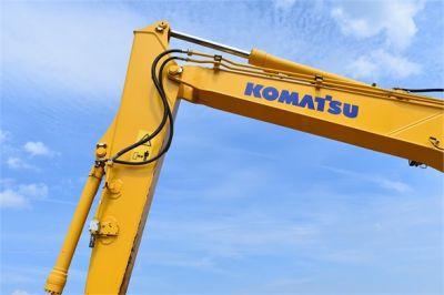 USED 2016 KOMATSU PC138US-10 EXCAVATOR EQUIPMENT #2181-12