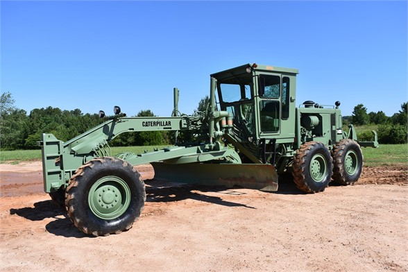 USED 1981 CATERPILLAR 140G MOTOR GRADER EQUIPMENT #2182