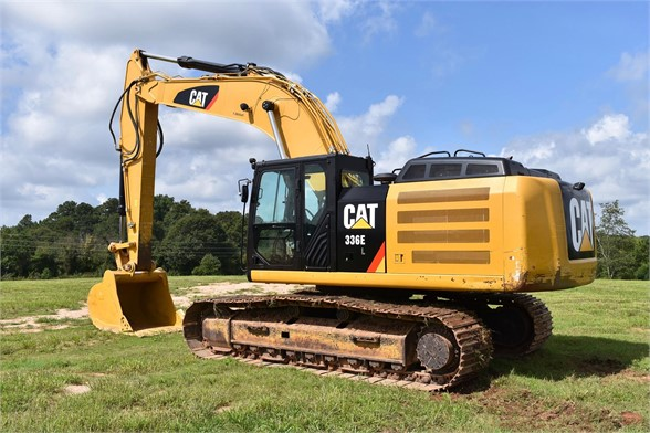 USED 2014 CATERPILLAR 336EL EXCAVATOR EQUIPMENT #2185