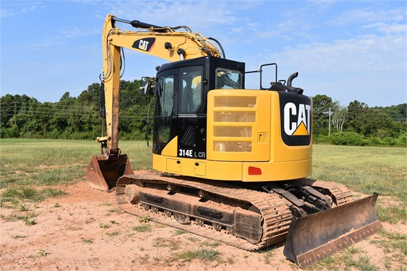 USED 2013 CATERPILLAR 314E LCR EXCAVATOR EQUIPMENT #2192