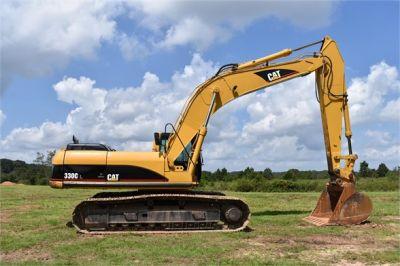 USED 2006 CATERPILLAR 330CL EXCAVATOR EQUIPMENT #2200-10