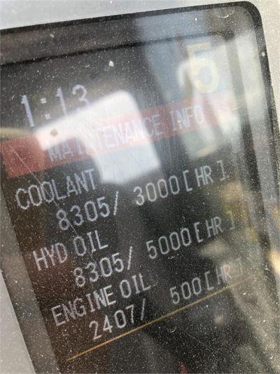 USED 2011 CATERPILLAR 345DL EXCAVATOR EQUIPMENT #2201-34