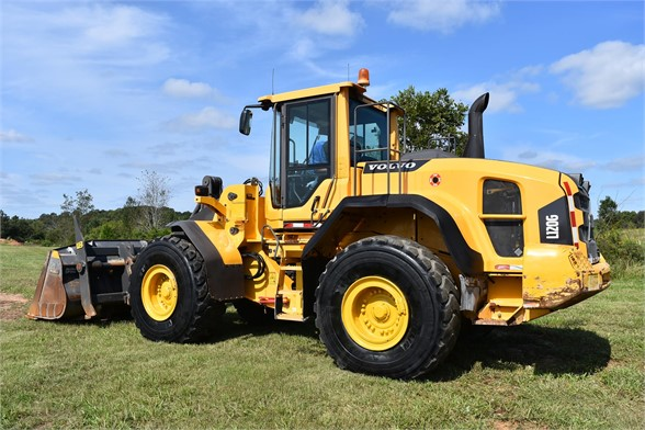 USED 2014 VOLVO L120G WHEEL LOADER EQUIPMENT #2203
