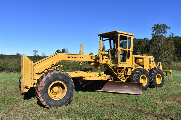 USED 1974 CATERPILLAR 14G MOTOR GRADER EQUIPMENT #2207